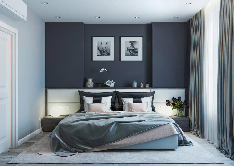 Minimalistische Schlafzimmer von OM DESIGN Minimalistisch