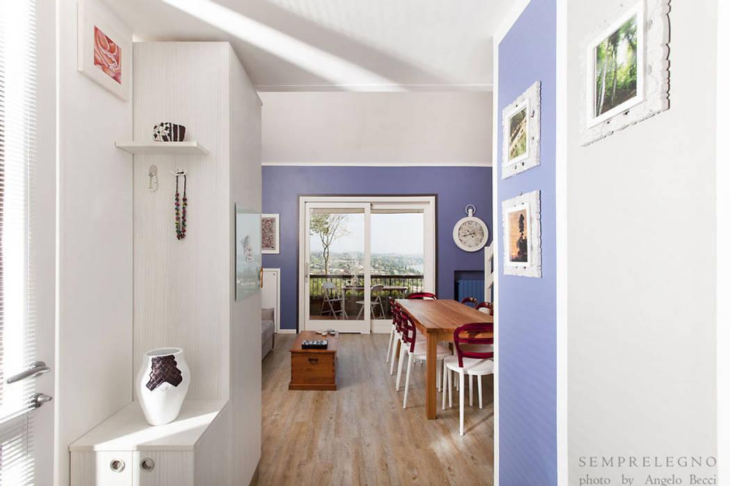 Mobili Per Corridoio E Ingresso : Ingresso e corridoio con mobili realizzati su misura e armadio