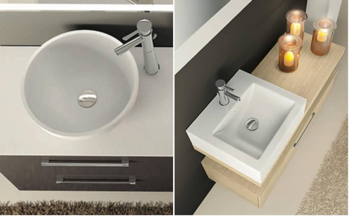 Ceramiche Arredo Bagno Moderno.Lavabi In Stile Di Seresi Arredo Bagno Moderno Ceramica