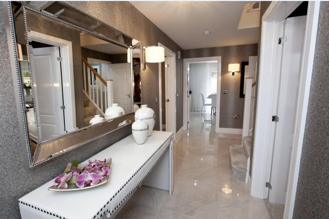 Make every room a new adventure..... 現代風玄關、走廊與階梯 根據 Graeme Fuller Design Ltd 現代風