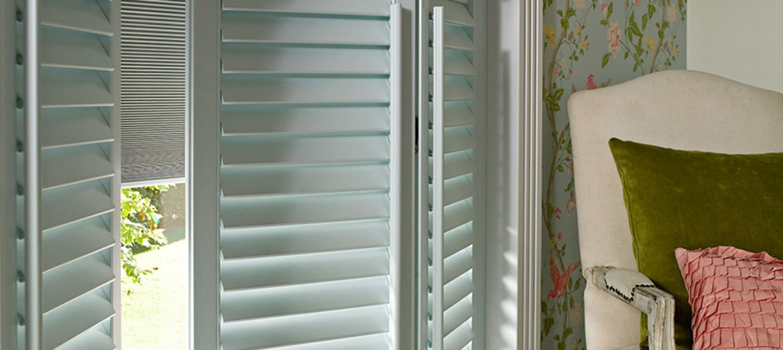 Options Shutter Blinds Classic Style Bedroom By Thomas