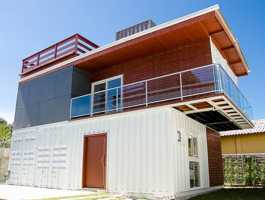 GhiorziTavares Arquitetura 房子 鐵/鋼