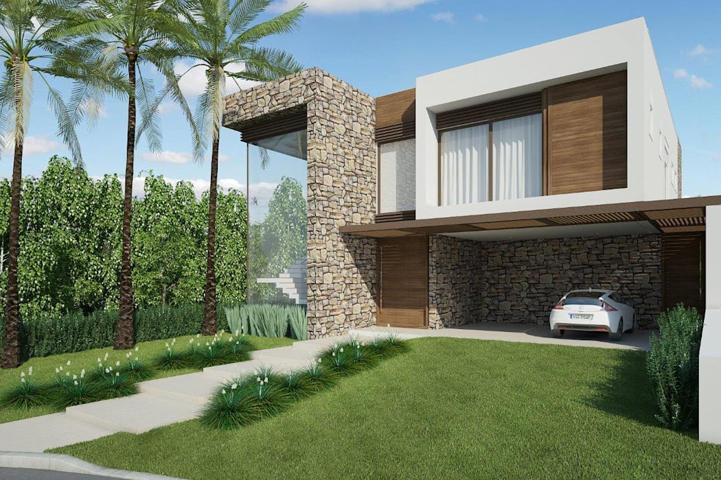 Maisons modernes par Quitete&Faria Arquitetura e Decoração Moderne