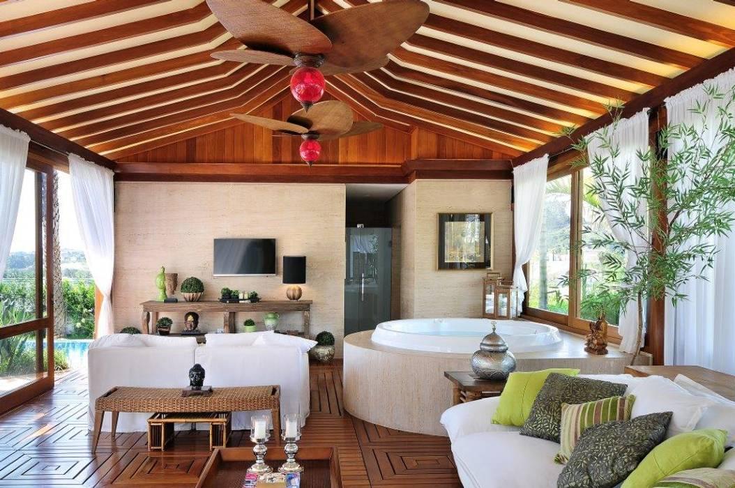 Garden  by Quitete&Faria Arquitetura e Decoração