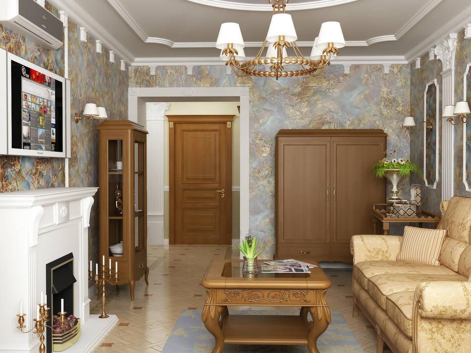 Ruang Keluarga Klasik Oleh homify Klasik