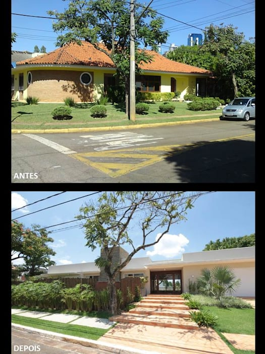 Residecia 1 por Quitete&Faria Arquitetura e Decoração