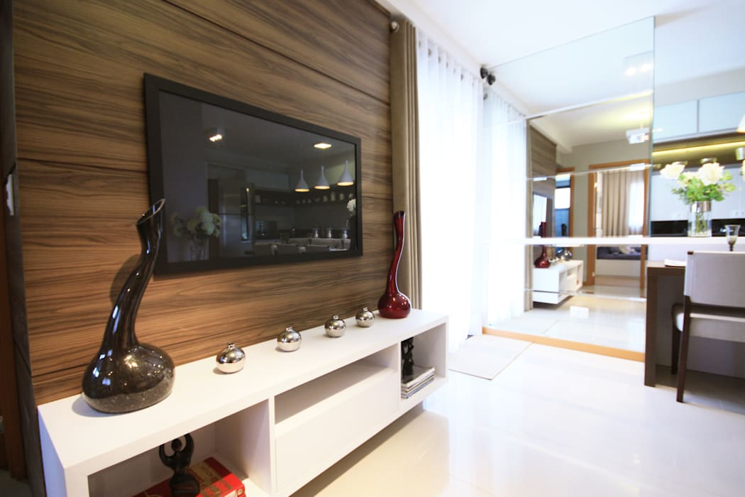 Sala Estar Salas de estar modernas por Arqbox Moderno Madeira Efeito de madeira