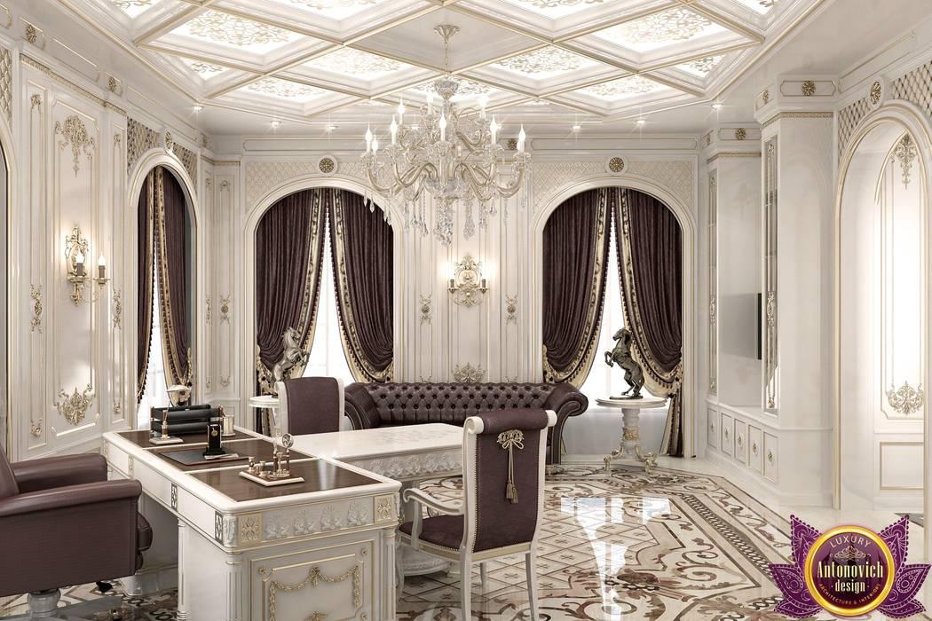 Kitchen Design Usa By Katrina Antonovich: Office Interior Design Of Katrina Antonovich: Study/office