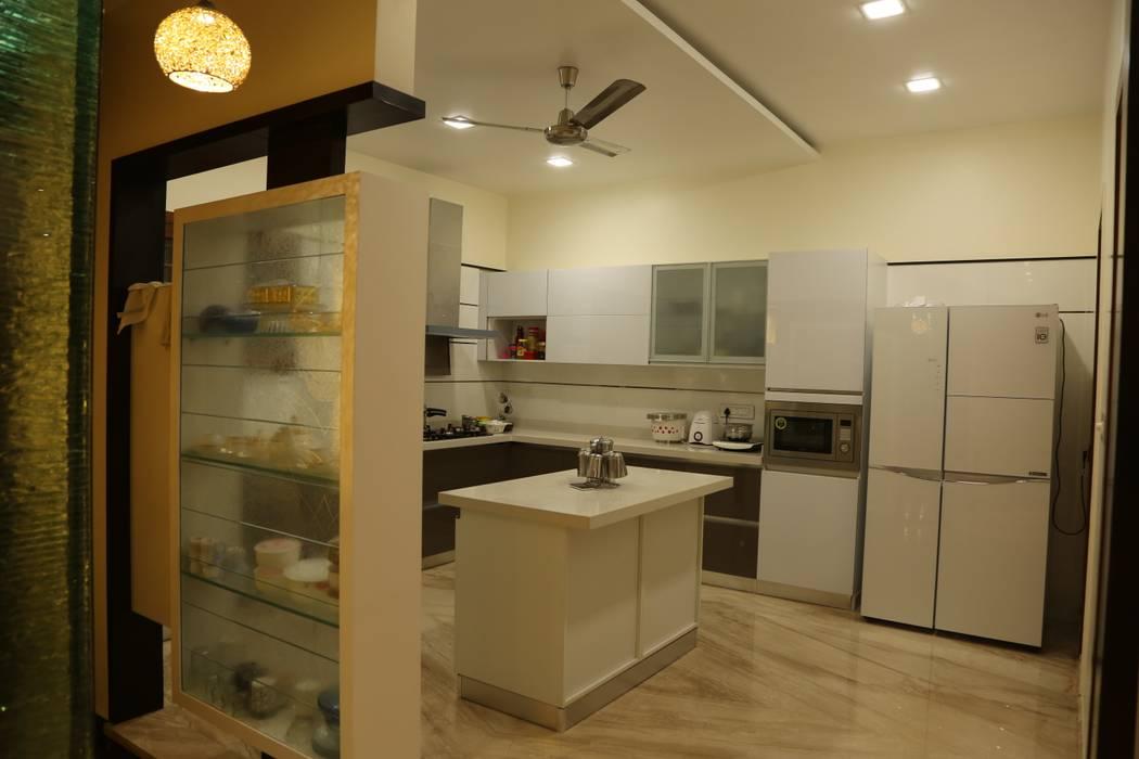 Cocinas de estilo moderno de Hasta architects Moderno