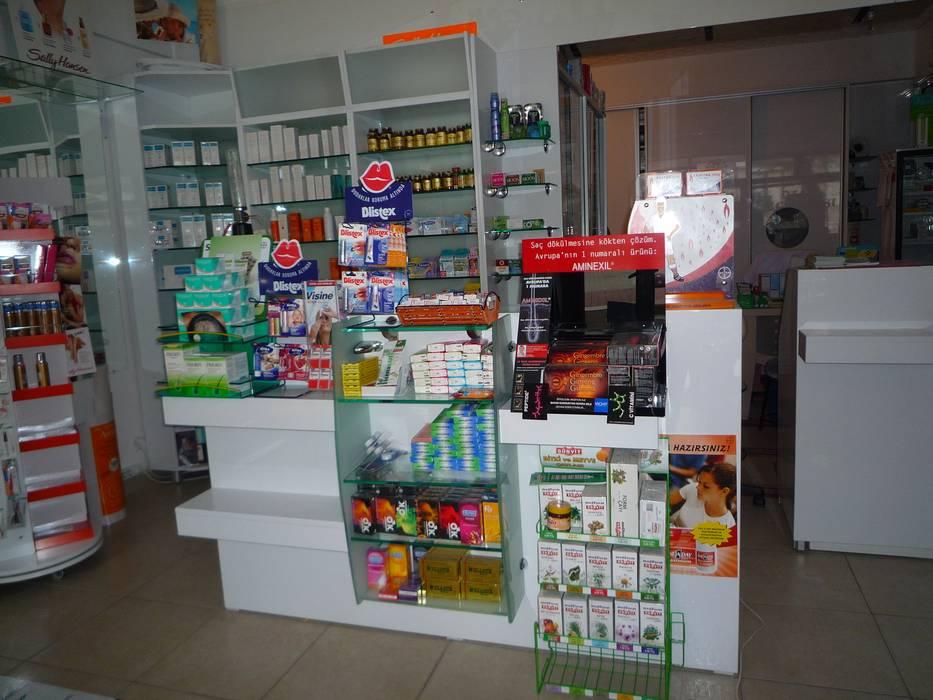 ozan eczanesi Modern Klinikler Majestik Mutfak & Mobilya Modern Orta Yoğunlukta Lifli Levha