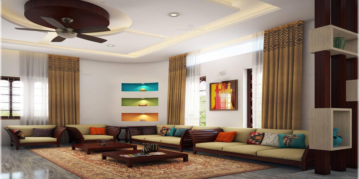 Magnificent:  Living room by Premdas Krishna