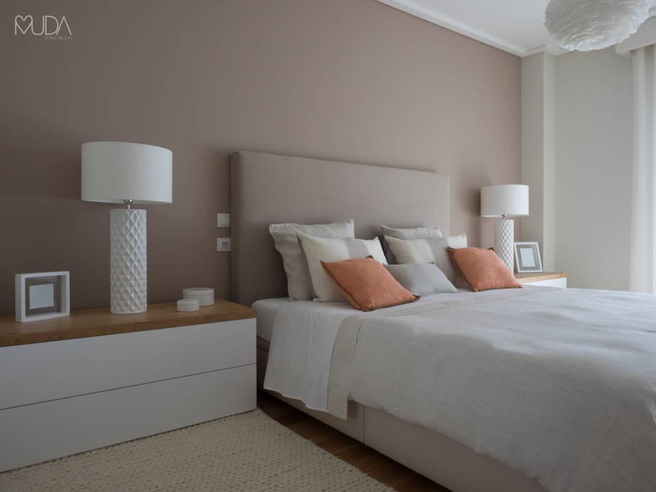 Suite | Depois Quartos modernos por MUDA Home Design Moderno