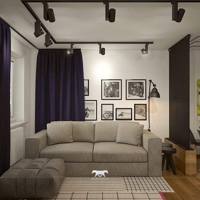 Living room by BLUETARPAN Eclectic