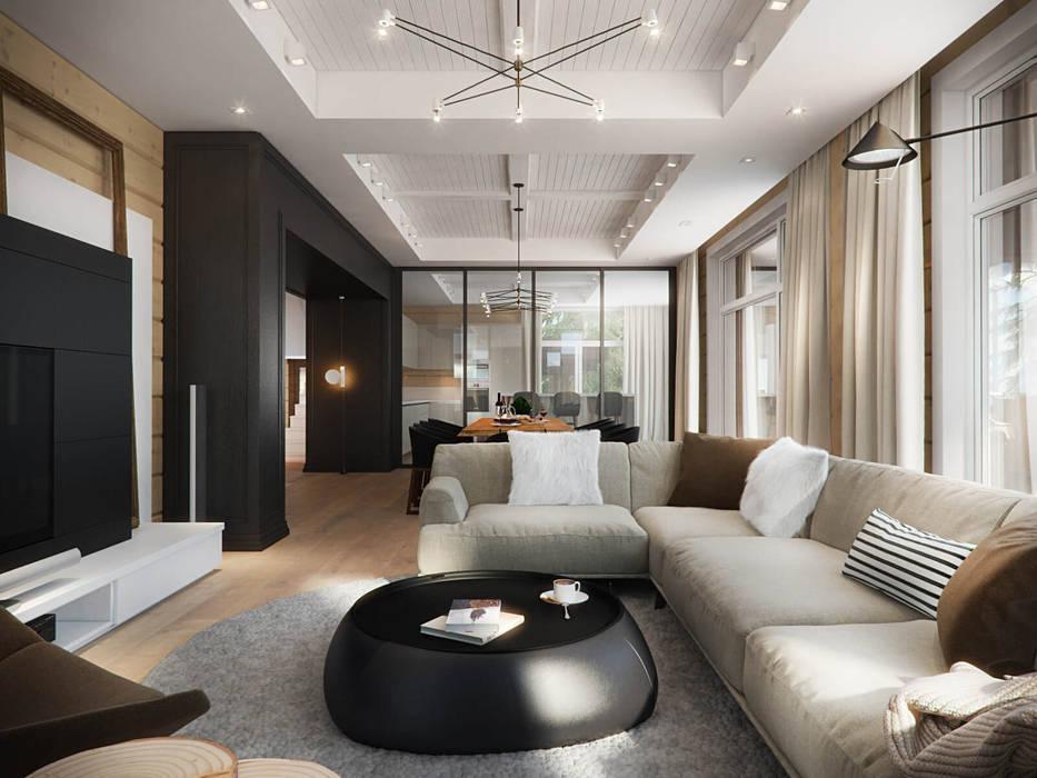 Резиденция в посёлке Репино, 450 кв. м. от FullHouseDesign