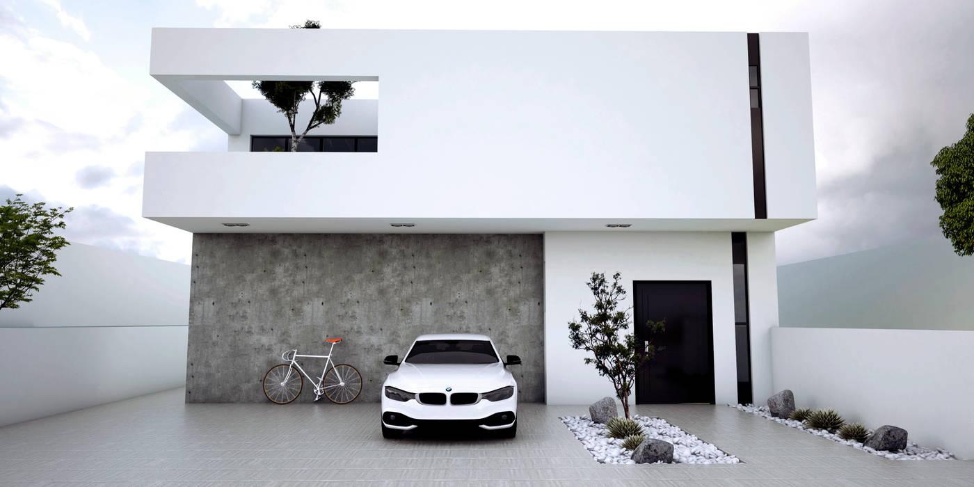 Pre-Sales Residency: Casas de estilo minimalista por Studio03