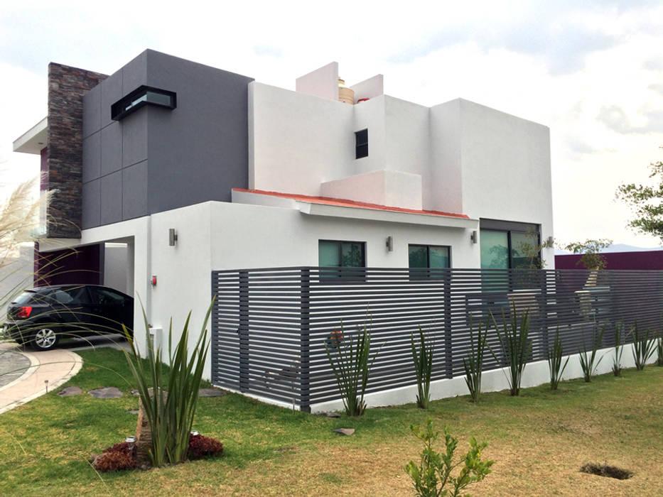 Casas de estilo  por Base-Arquitectura,