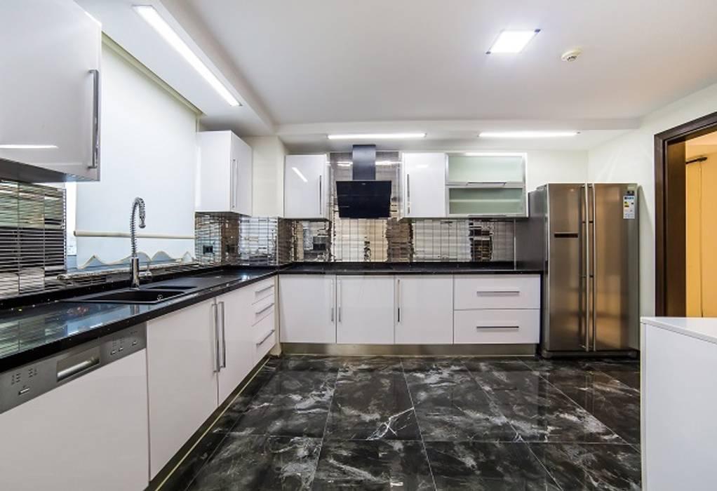 Özer Residence Minimalist Mutfak Onn Design Minimalist Granit