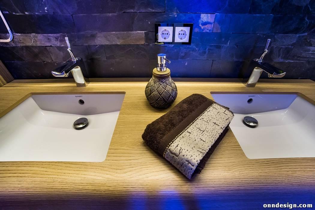 Onn Design – Özer Residence: minimalist tarz , Minimalist Ahşap Ahşap rengi