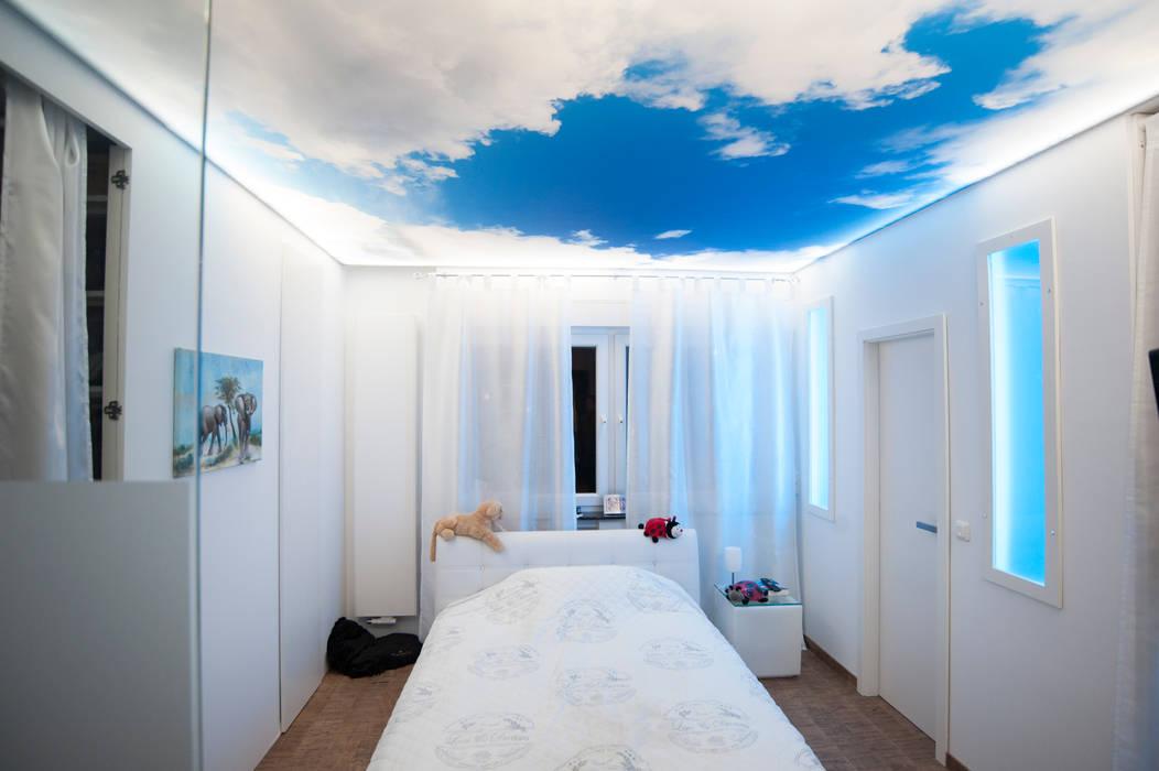 Himmel Im Schlafzimmer Moreno Licht Mit Effekt Lichtplaner Moderne Schlafzimmer Homify