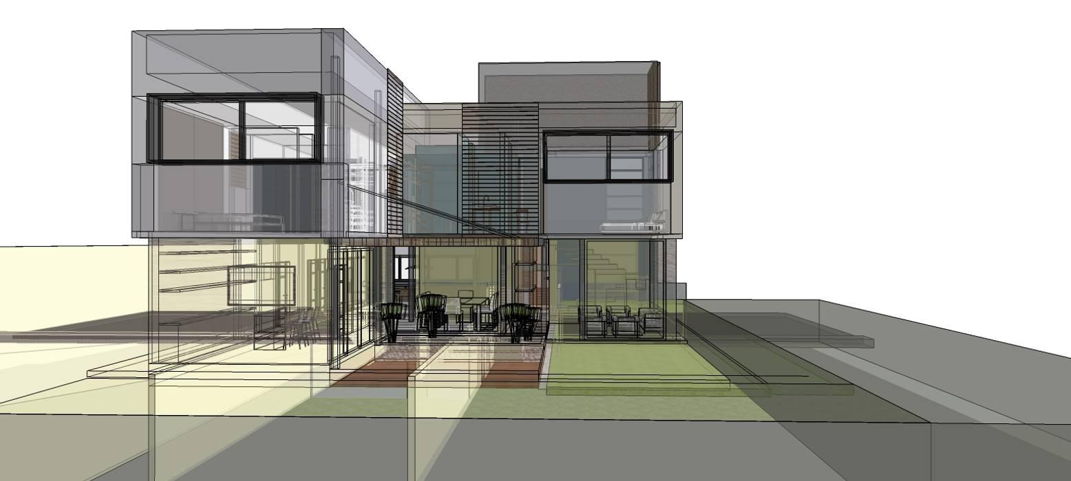 Casas  por RAVE Arch, Moderno