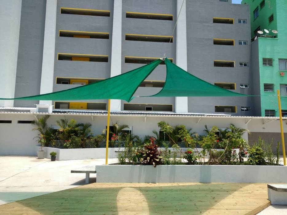 toldo triangular Toldo Triangular Sombralux Com Proteo Uv Modelo Vela De