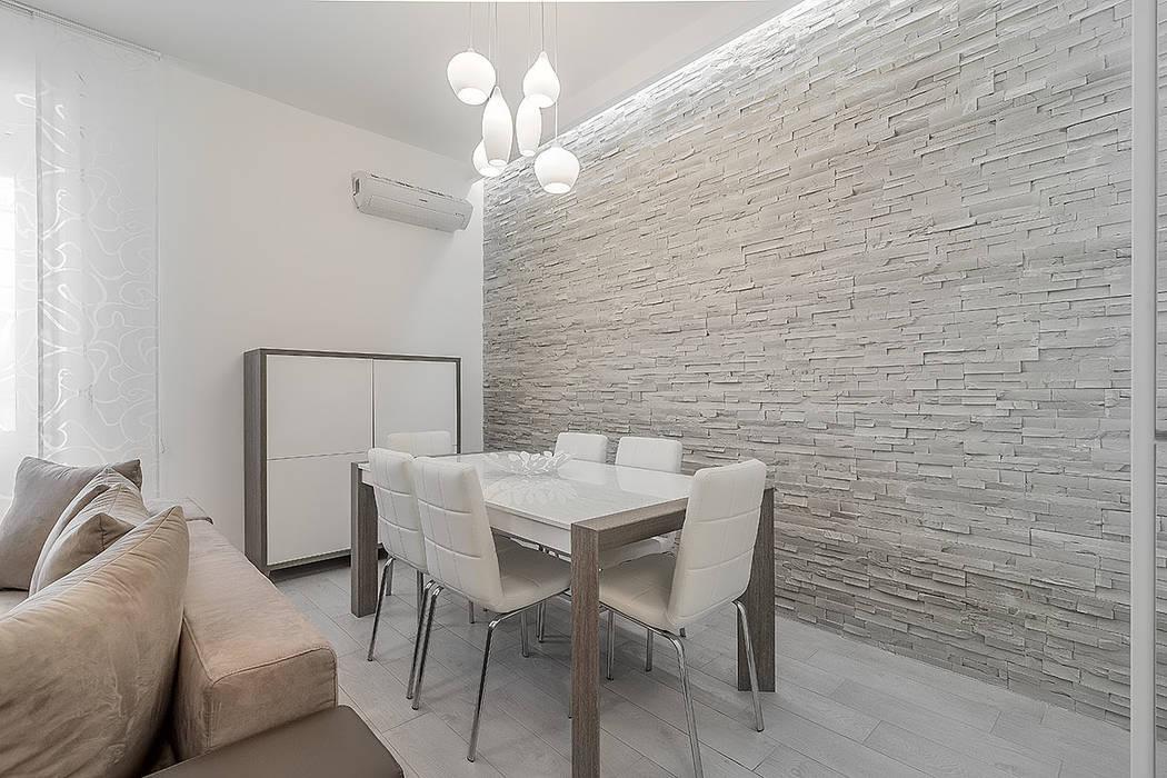 Sala da pranzo: sala da pranzo in stile in stile moderno di facile ...