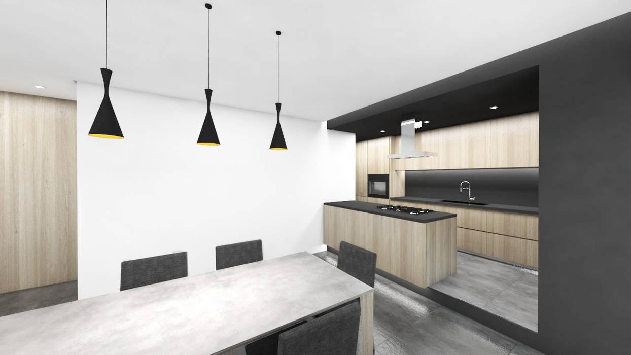casa CM2: Cucina in stile in stile Moderno di degma studio