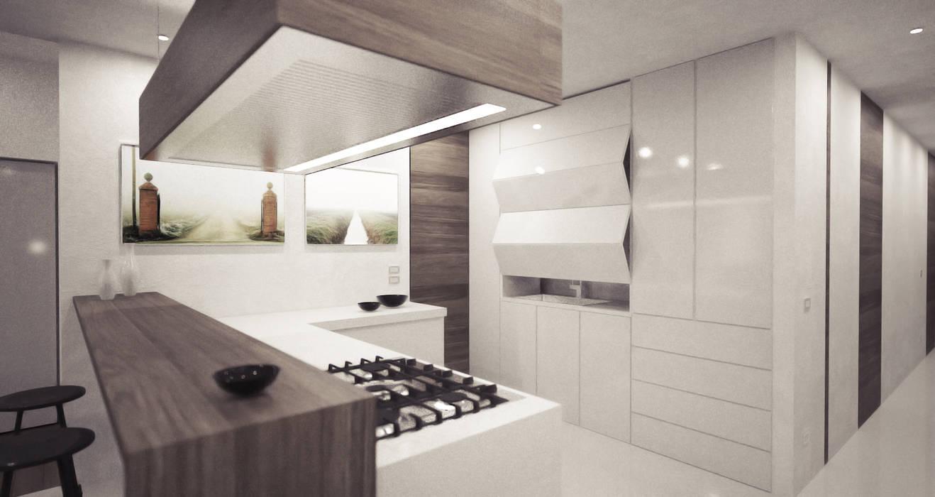 casa A: Cucina in stile  di degma studio