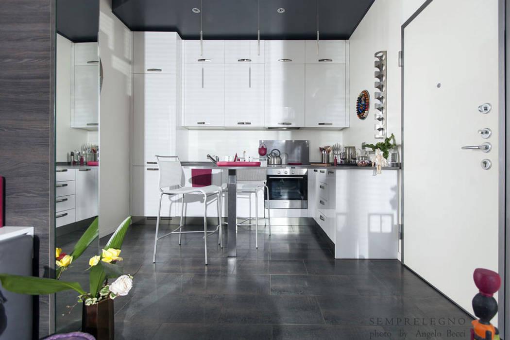 Moderne küchen von semprelegno modern   homify