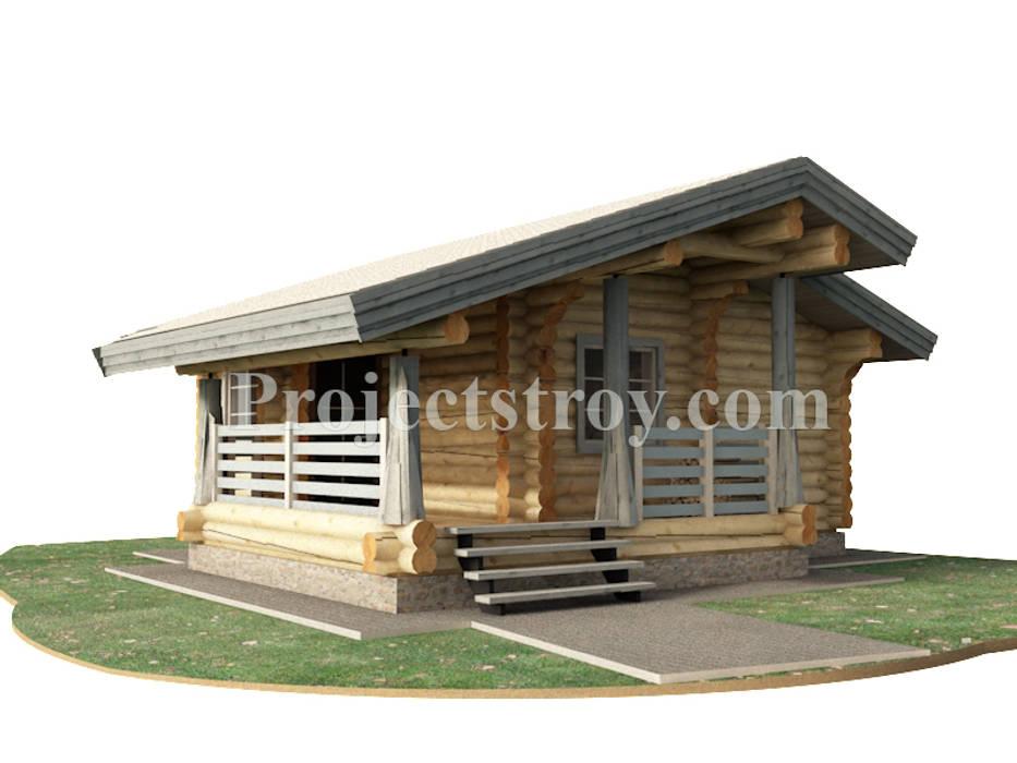 Spa by Projectstroy, Scandinavian Wood Wood effect
