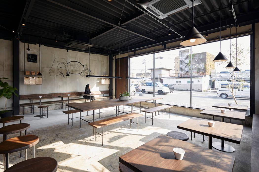 Gastronomie minimaliste par Innovation Studio Okayama Minimaliste Béton