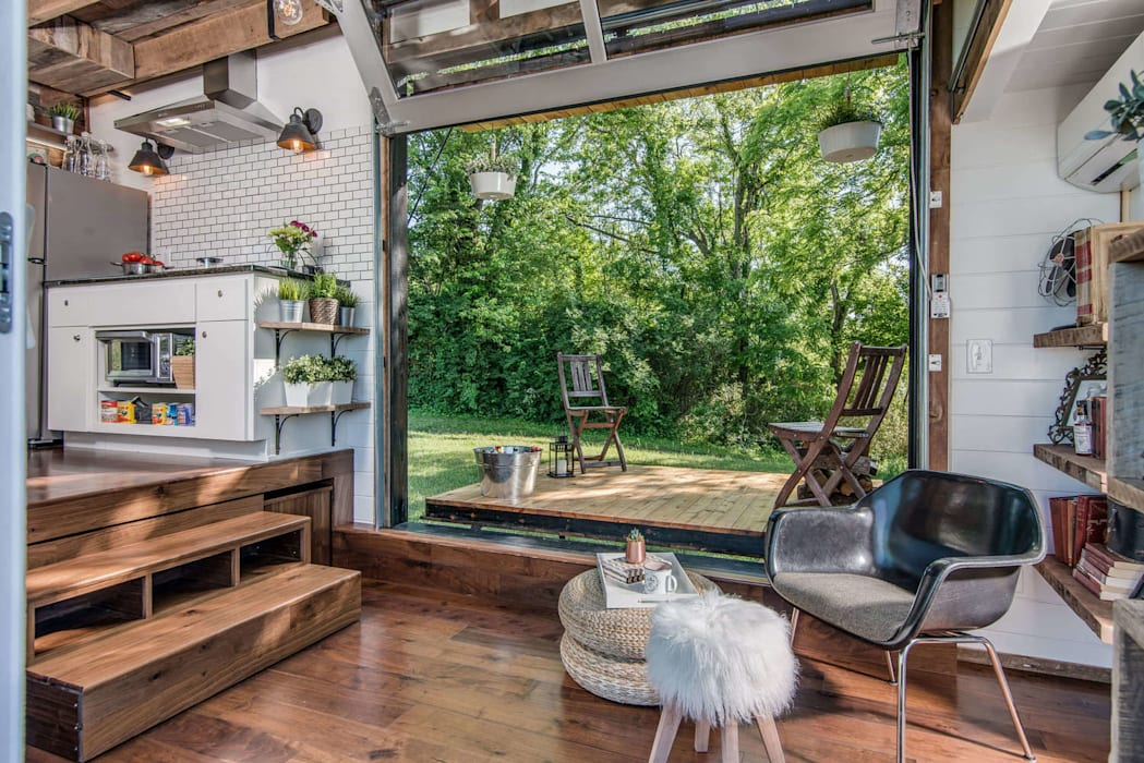 บ้านสวน:  บ้านและที่อยู่อาศัย by รับเขียนแบบบ้าน&ออกแบบบ้าน