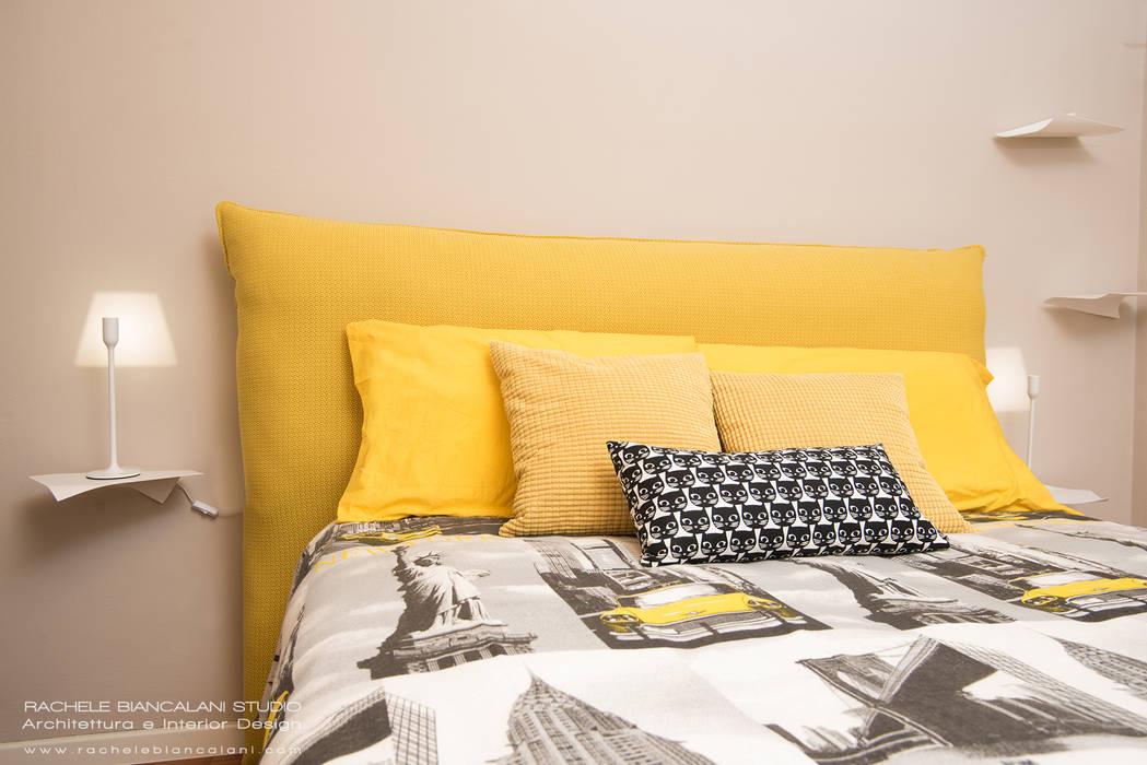 Camera Da Letto Giallo : Home interno camera da letto dispongono di parete verde giallo