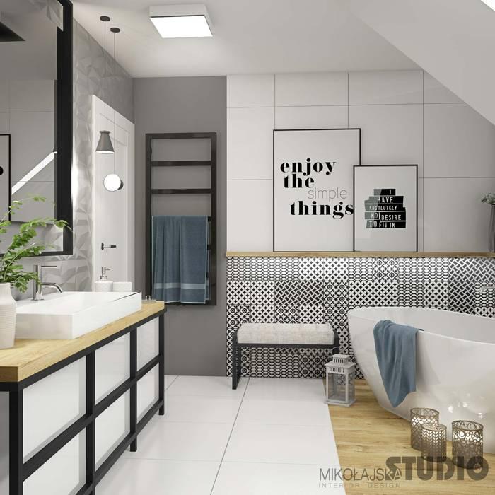 sch ne moderne badezimmer badezimmer von mikolajskastudio
