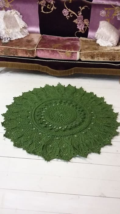 Абрикос Living roomAccessories & decoration Natural Fibre Green