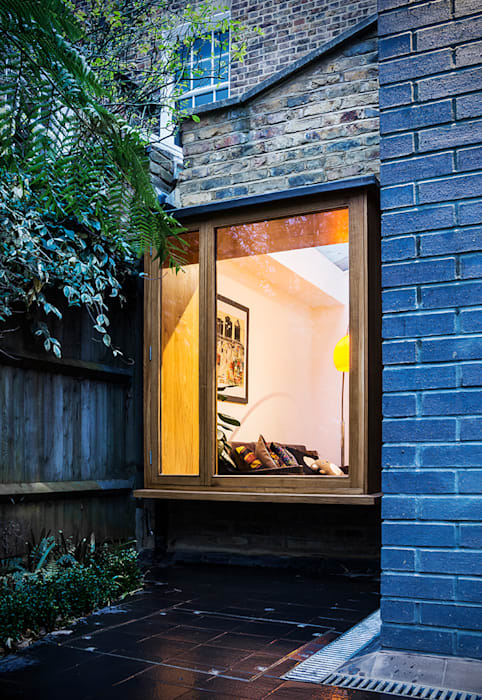 Fenster von A2studio, Modern Holz Holznachbildung