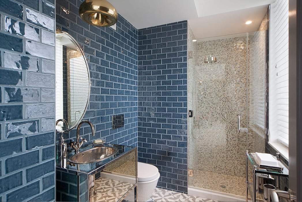 Joe Ginsberg Design Banheiros modernos
