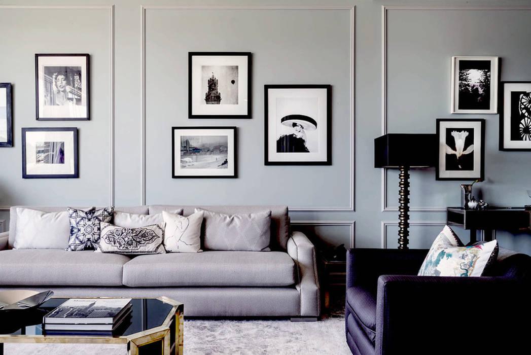 Salones de estilo  de Joe Ginsberg Design,