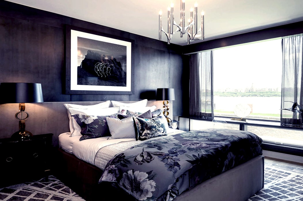 Bedroom - The Pearl:  Bedroom by Joe Ginsberg Design