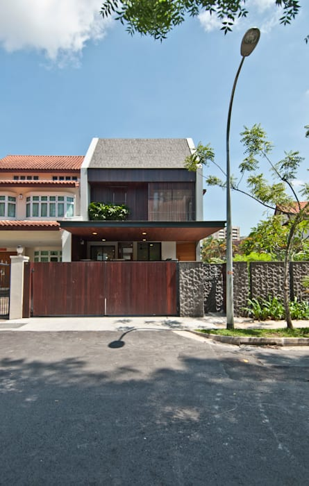 Houses by ming architects, Modern