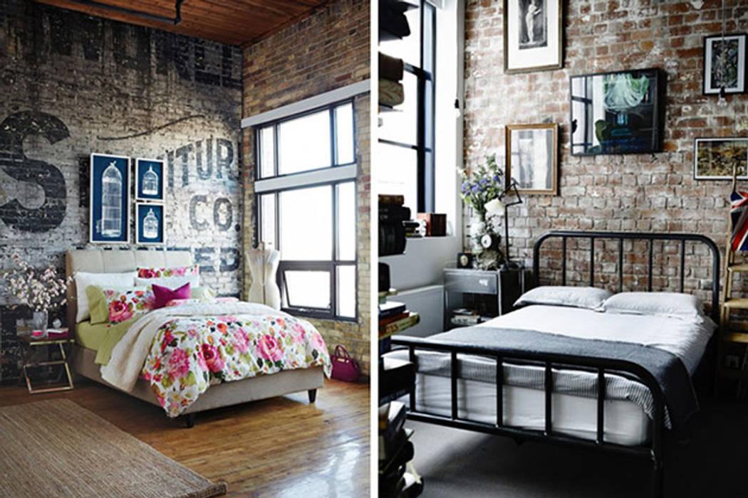 Industrial style walls & floors by Evinin Ustası Industrial