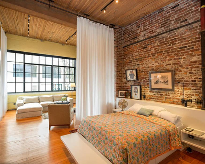 Evinin Ustası Dormitorios de estilo industrial