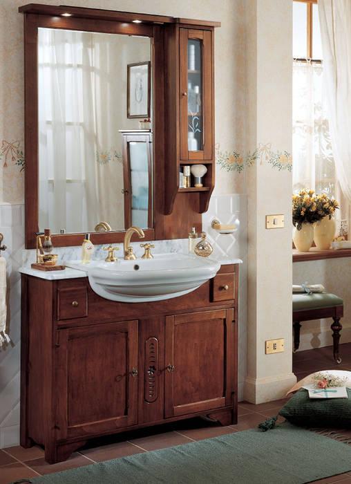 Mobile classico finitura ciliegio in stile di seresi for Arredo bagno stile classico