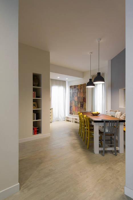 Appartamento al Gazometro Cucina in stile industriale di Archifacturing Industrial