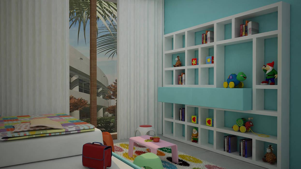 Moderne Kinderzimmer von homify Modern MDF