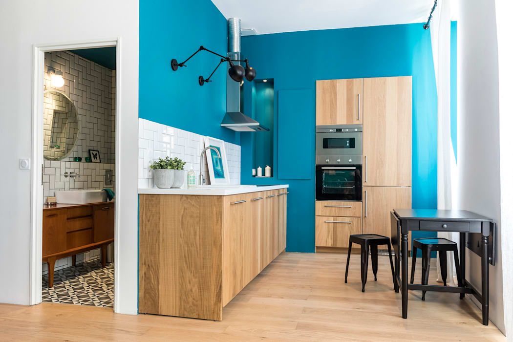 Kitchen by Insides, Eclectic Wood Wood effect