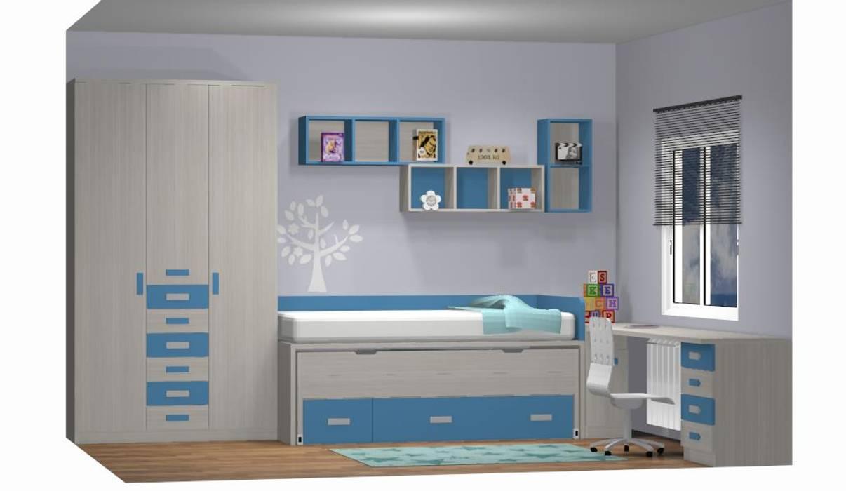 Quartos modernos por Muebles Parchis. Dormitorios Juveniles. Moderno