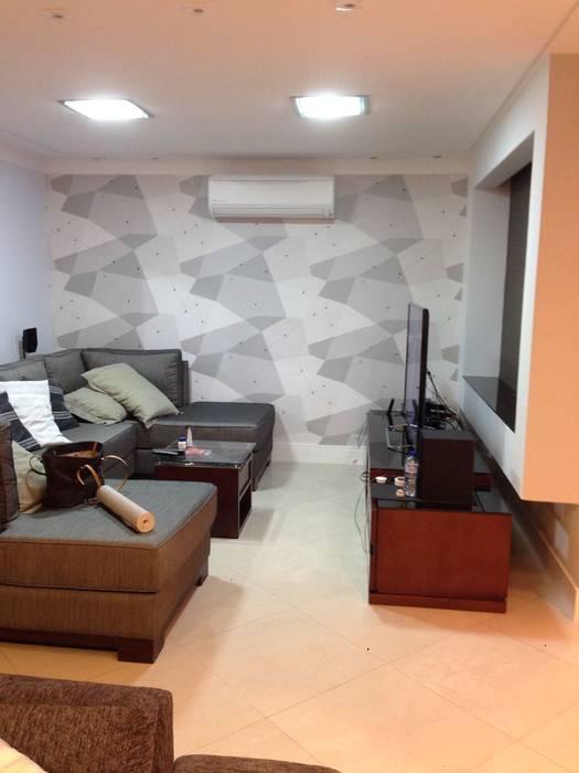 Samira Prado Moda Casa 客廳配件與裝飾品 紙 Grey