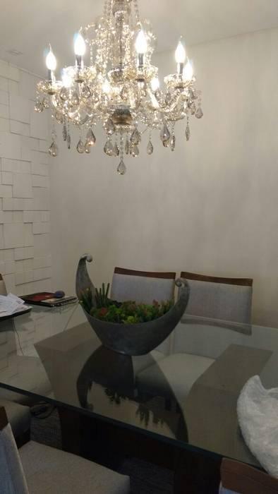 Samira Prado Moda Casa Sala da pranzoAccessori & Decorazioni Carta Beige