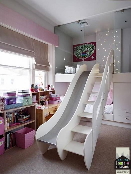 Kid's Bedroom:  Bedroom by home makers interior designers & decorators pvt. ltd.